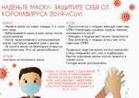 Профилактика ГРИППА,ОРВИ и коронавирусной инфекции!